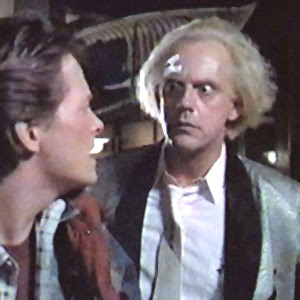 image of Doc Brown from Back to the Future