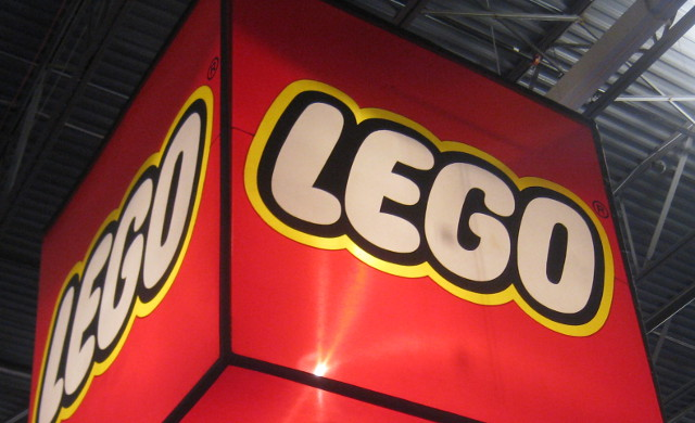 large sign at the Lego Kids Fest
