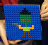 art at the Lego Kids Fest