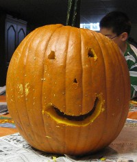 picture of a jack-o-lantern