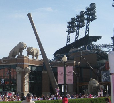 picture of Race for the Cure at Comerica Park