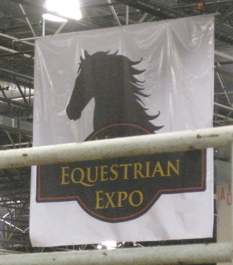 photo of equestrian expo