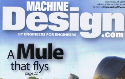 Magazine cover that says 'A Mule that flys'