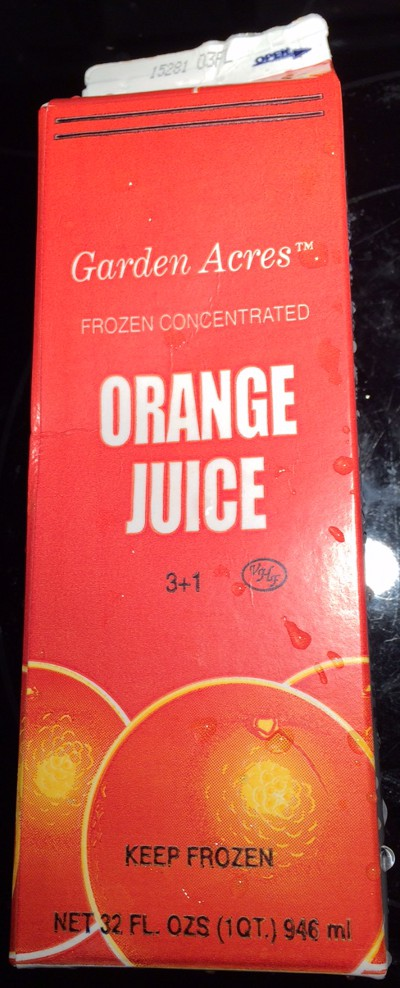 image of Garden Acres orange juice