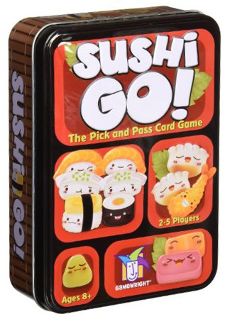 image of Sushi Go card game