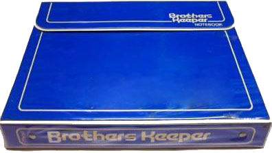 picture of the Brother's Keeper - the Christian version of the Trapper Keeper.