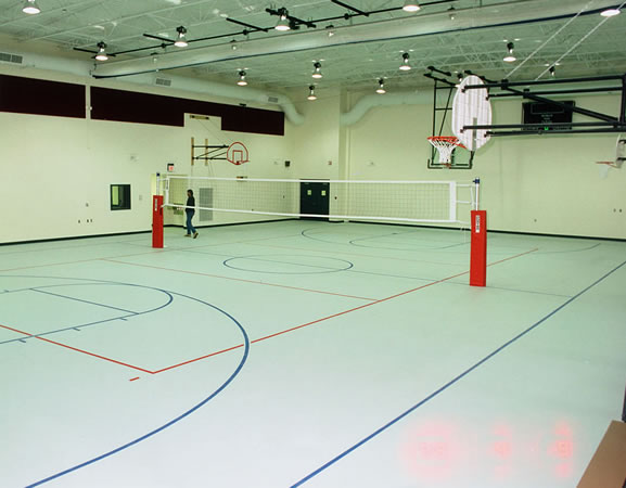 picture of a gymnasium