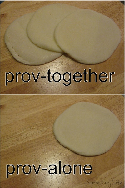 pictures of prov-together and prov-alone pun using provolone cheese
