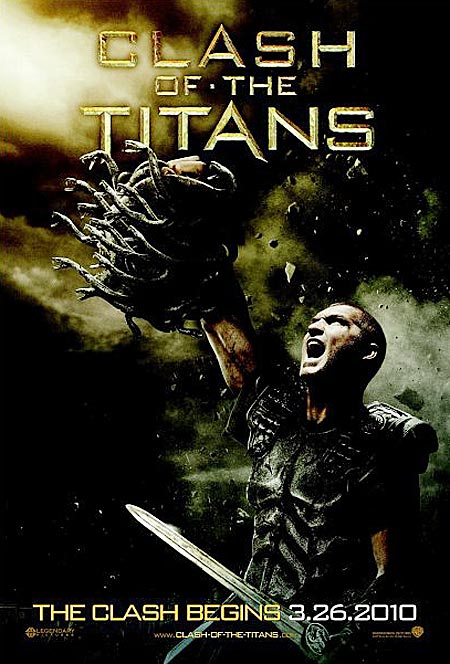 movie poster for Clash of the Titans
