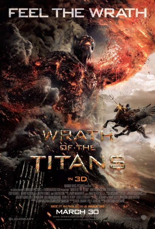 movie poster for Wrath of the Titans