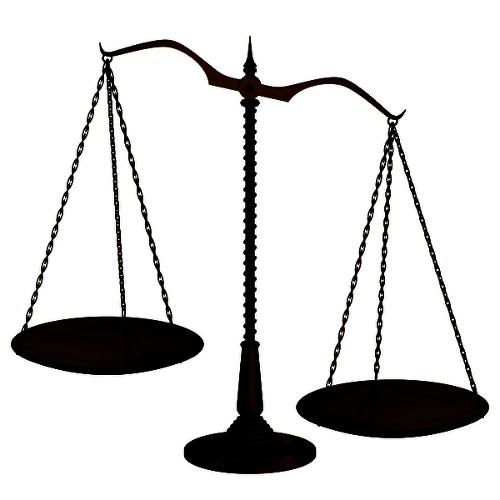 image of balance scales