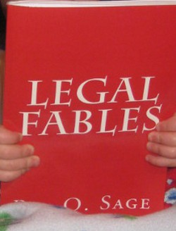 image of the book Legal Fables by Ray O. Sage