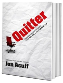image of the book Quitter by Jon Acuff