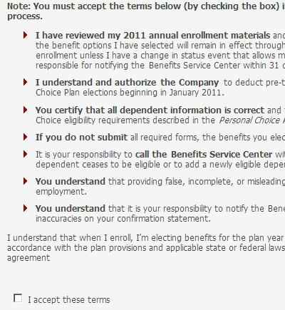 picture of a poorly worded enrollment agreement