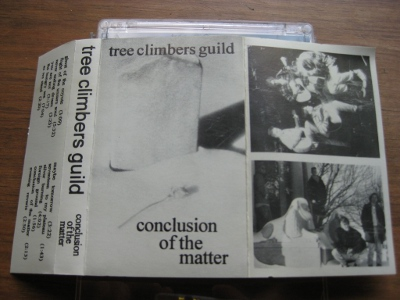 picture of the Tree Climbers Guild cassette tape