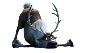 image of Sven the reindeer from Disney's Frozen movie