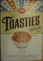 picture of a box of Post Toasties cereal