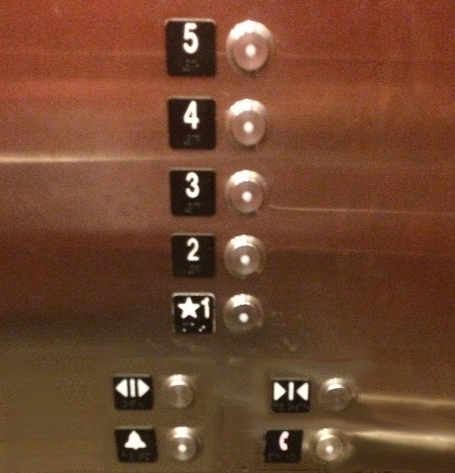 better design for elevator buttons