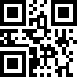QR code for a jack-o-lantern design