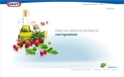 Kraft ad with real ingredients