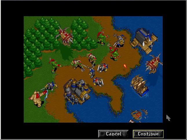 Screenshot From Warcraft ii