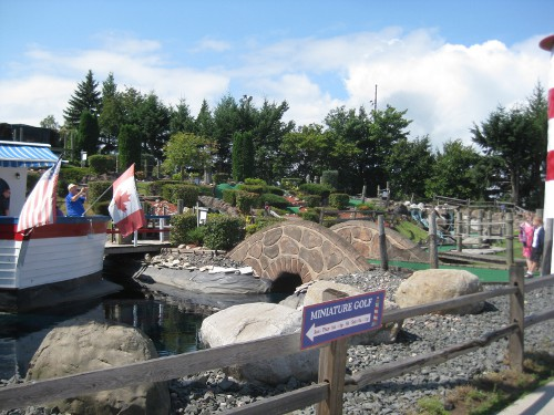Miniature golf in Sault Sainte Marie