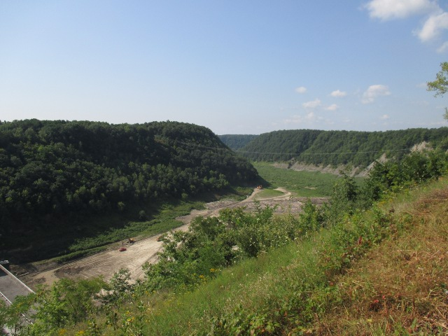 photo of a scenic overlook at Letchworth State Park in New York