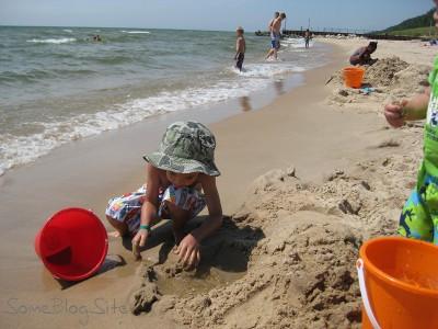 picture of the Lake Michigan beach at Maranatha