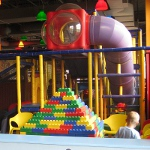 picture of the playland inside the Schaumburg Legloand Discovery Center