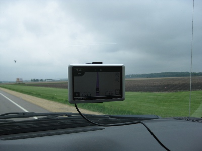 picture of the drive through rural Illinois