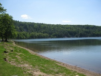 picture of Devil's Lake near Baraboo, Wisconsin