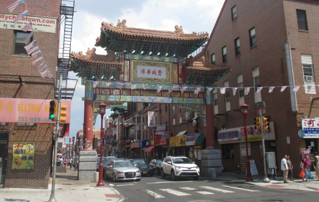 photo of the Chinatown part of Philadelphia